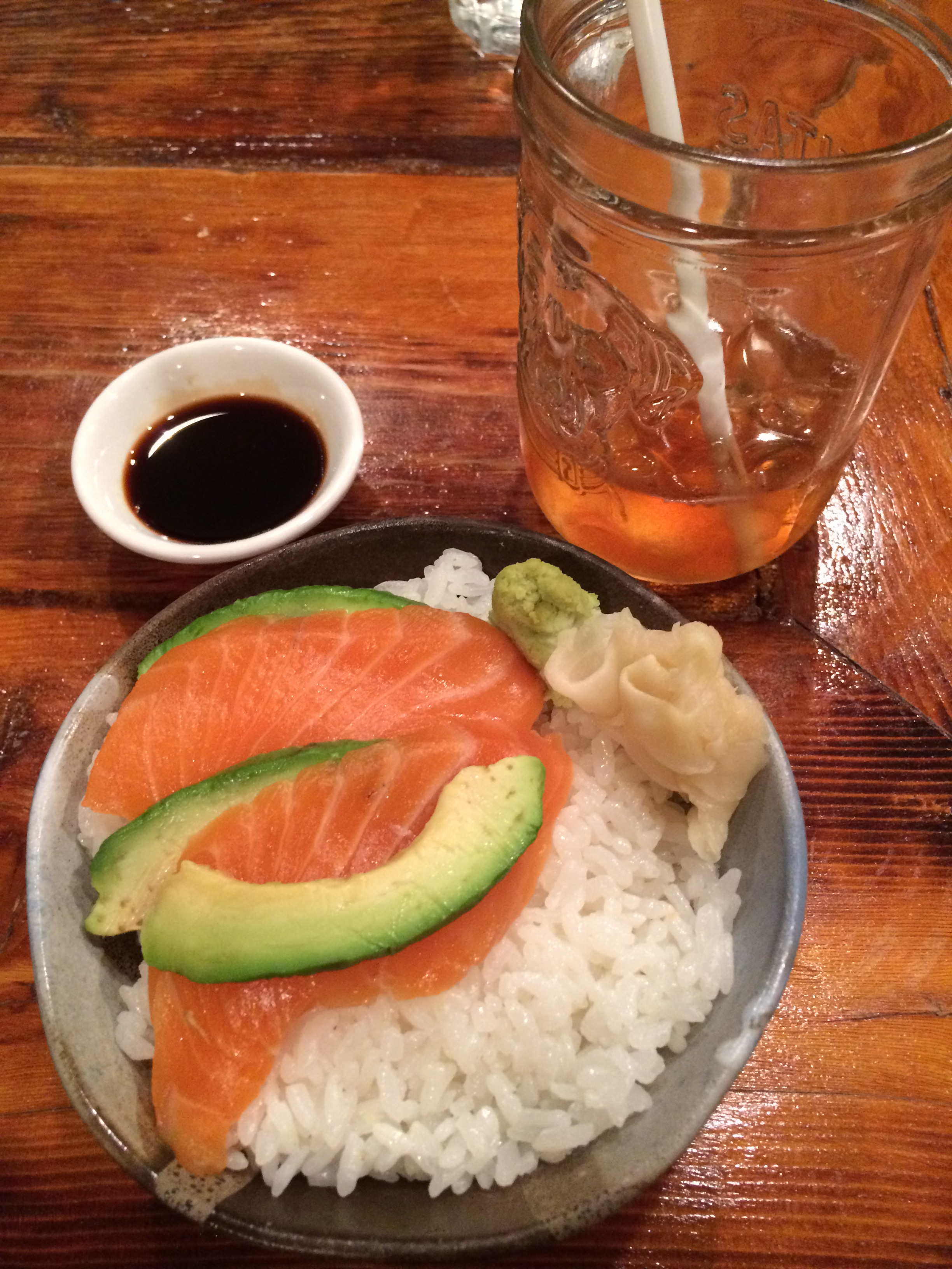 There's the cutest little sushi place in Harlem…Chopped Parsley!
